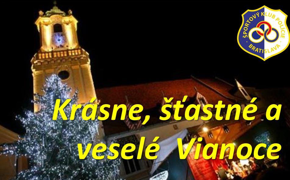 Tréneri a funkcionári hádzanárskeho a hokejového oddielu ŠKP Bratislava  prajú krásne Vianoce 2016. 7654d74c0c0